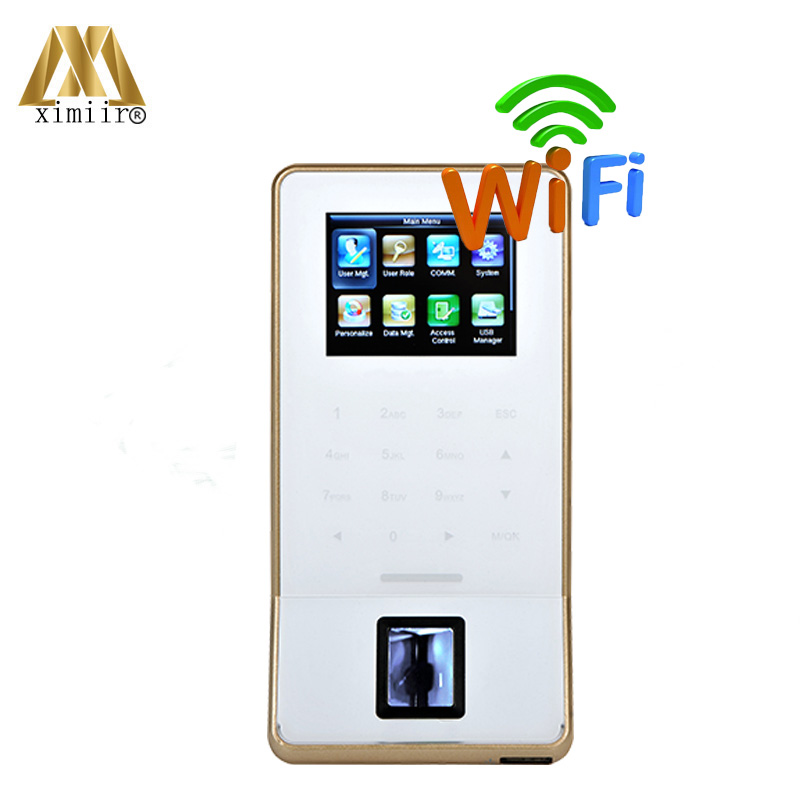 Good Quality Biometric Fingerprint Door Access Control F22 WIFI Time Attendance Machine Free Shipping With SDK, Software