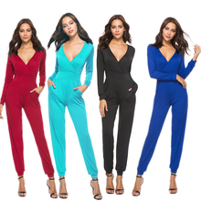 2019 Hot Jumpsuit Womens Clothing Street High Waist Best Selling Milk Silk Solid Color For Women