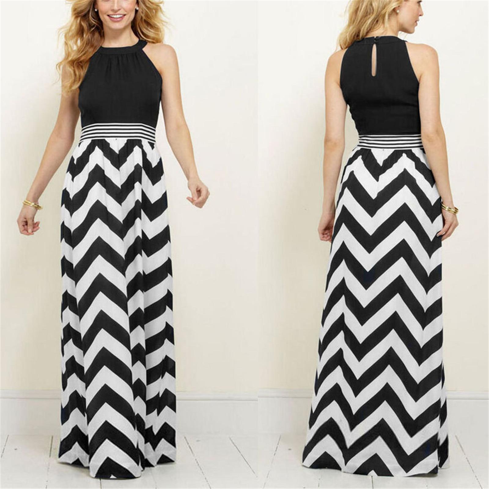 Women New Summer Long Maxi Dress 1