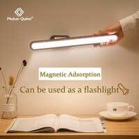 2020 neue Dropship Hängen Magnetische Tisch Lampe 16PCS LED Lampe Aufladbare und Auge-schützen Schreibtisch Lampe Stufenlose Dimmen nacht lichter
