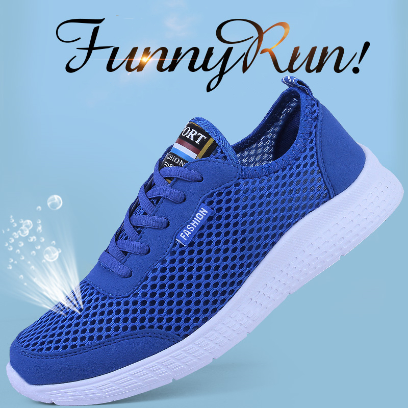 Summer Style Men Shoes Casual Air Mesh Sneakers Teenage  Cheap Footwear Sport Shoes Trendy Women Black Shoes Zapatos Dorados