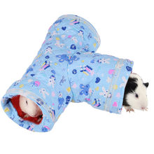 Piccolo Animale Pieghevole Pet Giocattolo Gioco Tunnel per il Criceto Guinea Pig Cincillà Coniglio Ferret Guinea Pig Gatto Tunnel con il Divertimento(China)