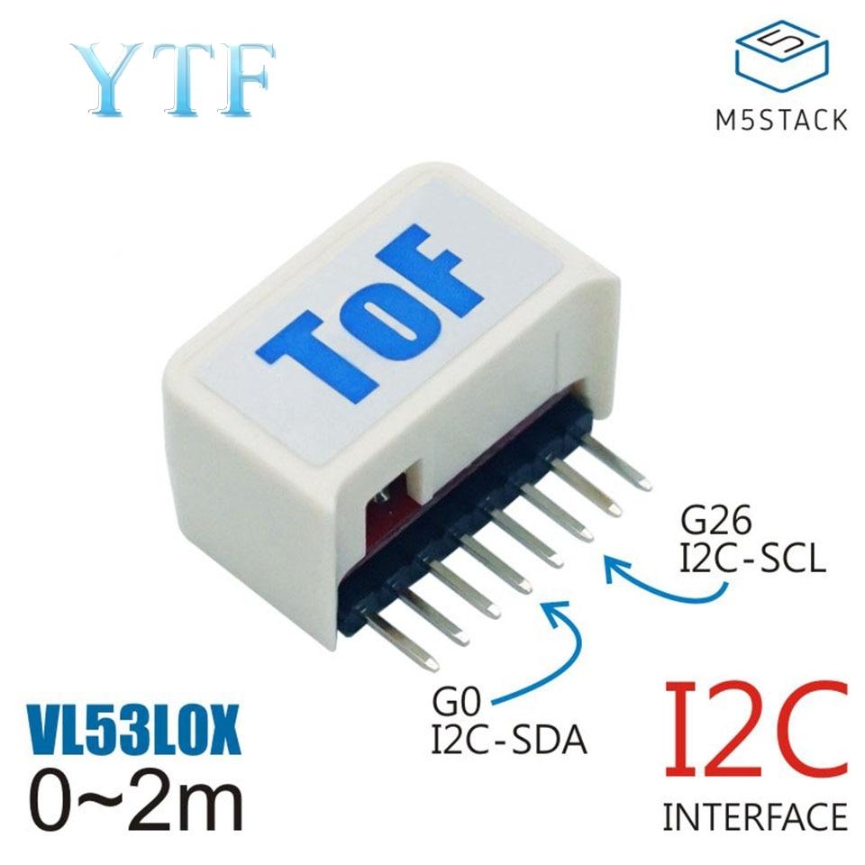 M5Stack Stick C Compatible Laser Distance Sensor ToF VL53L0X VCSEL Transmitter