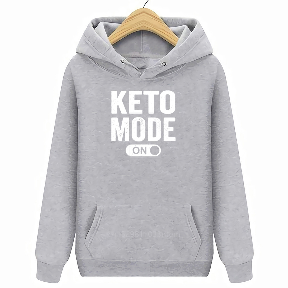 Keto Mode On T Shirt Latest Personality Fit Great Tshirt Men Summer Style Leisure Cotton Pop T Shirts