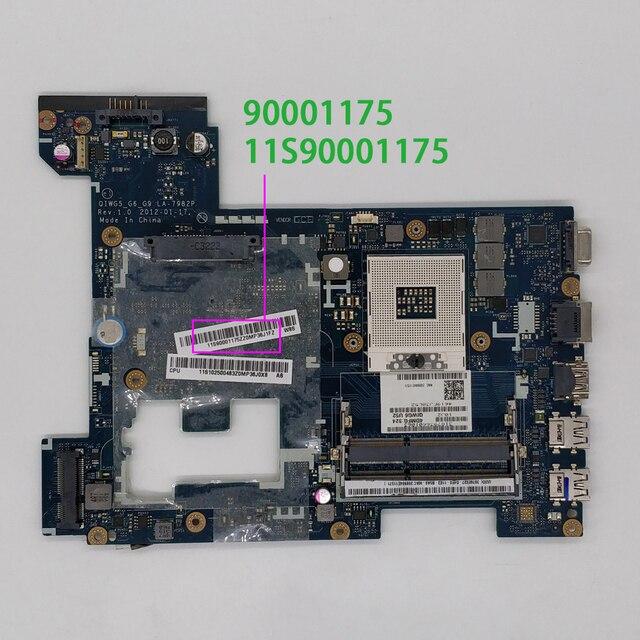 Per Lenovo G580 11S90001175 90001175 QIWG5_G6_G9 LA 7982P Scheda Madre Del Computer Portatile Mainboard Testato
