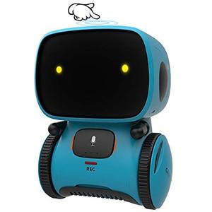 Robots inteligentes para niños, juguetes interactivos con Control táctil y grabadora de repetición, con mando de voz, para regalo