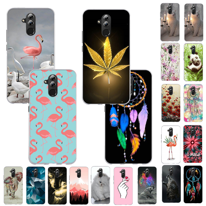 Soft TPU <font><b>Silicone</b></font> Phone Cover <font><b>Case</b></font> For <font><b>Huawei</b></font> Mate 20 Lite Y5 2019 <font><b>Y6</b></font> <font><b>2018</b></font> Y7 2019 Honor 8S Back Cover For <font><b>Huawei</b></font> Honor 7A Y5 2 image