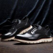 Taille 8-12 Hommes chaussures décontractées mode confortable 2021 WOOTTEN MARQUE chaussures en cuir pour hommes # AL521