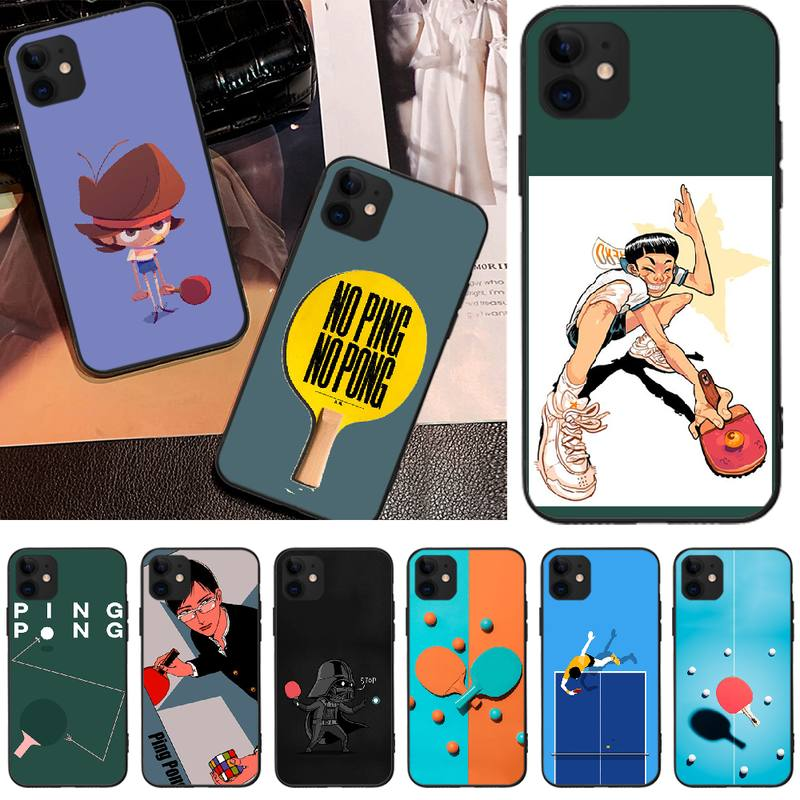 BaweiTE Sports ping pong Customer High Quality Phone Case For iPhone 5C 6 6S 7 8 plus X XS XR XS MAX 11 11 pro 11 Pro Max