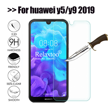 Tempered glass For huawei y5 2019 protective glass For huawei y9 2019 screen protector on huawey y 5 9 5y 9y y52019 y92019 Film image
