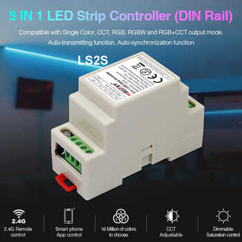 FUT089 Remote Controller MiBOXER DC12V~24V LS2S DIN Rail 5 IN 1 LED Strip Controller,FUT087 2.4G Touch for LED Strip light - DISCOUNT ITEM  25% OFF All Category