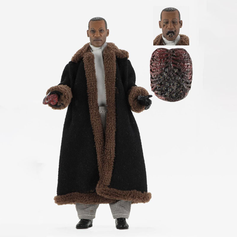 NECA Fiber Cloth Retro Series Candyman Movie Alloy Action Figure Model Toy