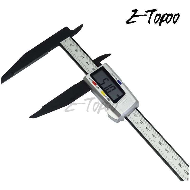 300 мм 200 электронный цифровой штангенциркуль с ЖК-дисплеем, Пластиковый штангенциркуль с нониусом, длинный микрометр, измерительный инструм...