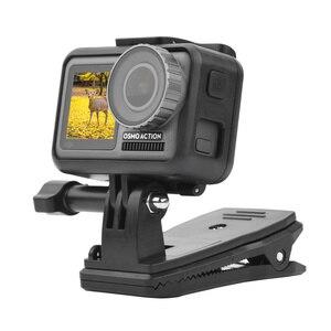 Image 3 - Sac à dos/sac pince pince pour DJI Osmo poche cardan fixe adaptateur monture pour Osmo poche Action caméra sac à dos support accessoires
