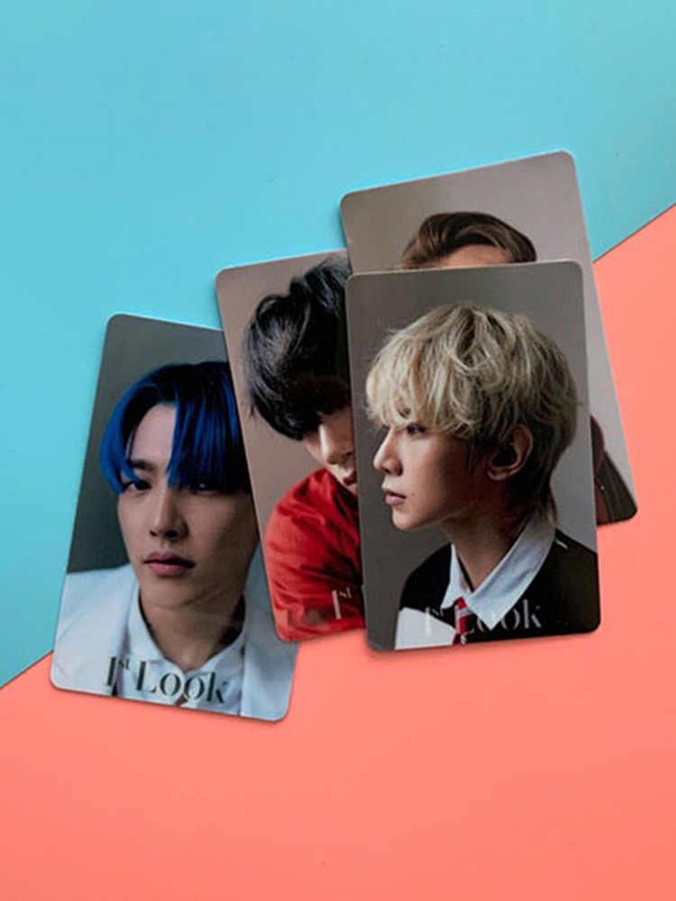 10Pcs set Kpop ATEEZ Card Stickers New Album ZERO FEVER Kpop Ateez Photocard Crystal Sticker Photo.jpg q50