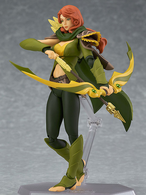 DOTA 2 figma SP-070 Windranger PVC Action Figure Collectible Model Toy 4