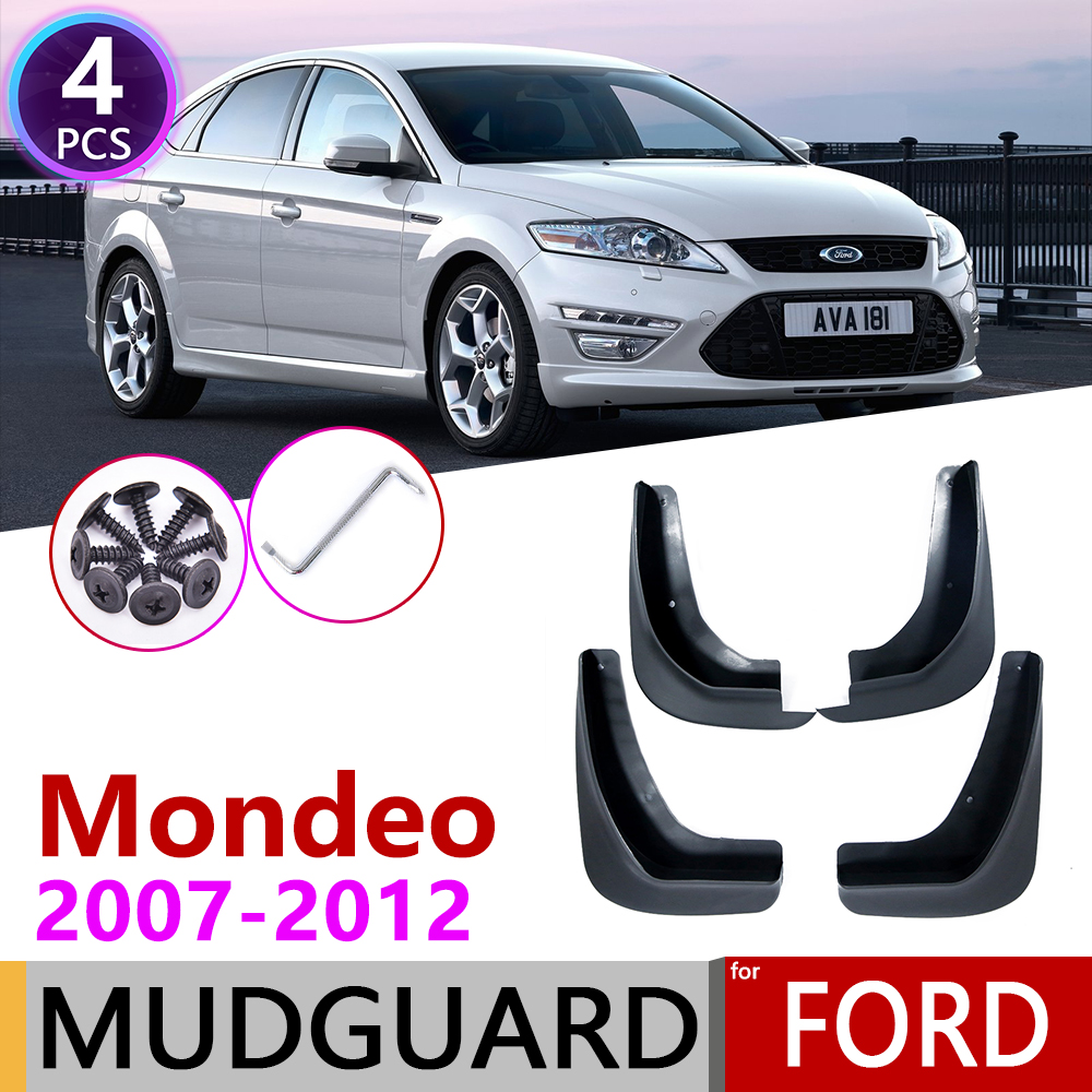 For Ford Mondeo MK4 2007~2012 Front Rear Fender Mudguard Mud Flaps Guard Splash Flap Mudguards Accessories 2008 2009 2010 2011