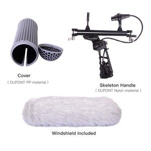 Image 3 - Mikrofon rüzgar korumak kafes cam şok dağı süspansiyon sistemi RODE mikrofonlar HD ses koleksiyonu VS yol BLIMP