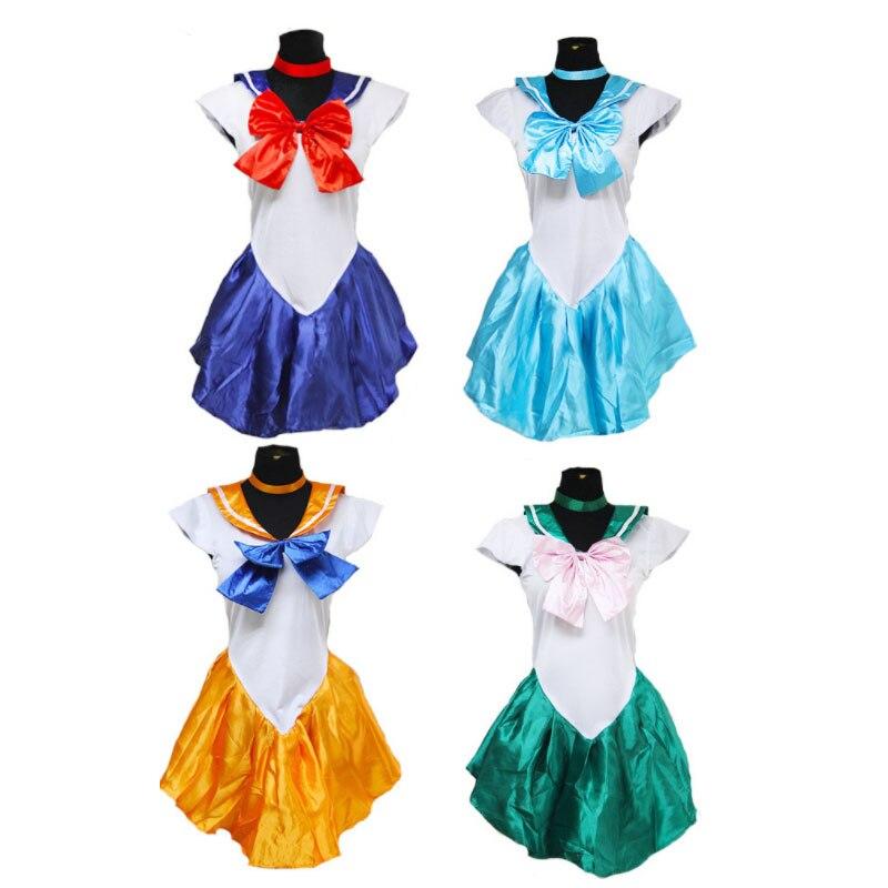 DM COS 2019 Halloween Lady Cosplay Anime Costume Sailor Moon Cos Game Uniform Women Dress Full Set Festival Party