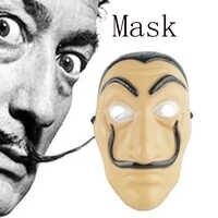 Máscara De La Casa De Papel máscara De La Casa De Papel juego De rol fiesta Cosplay disfraz Halloween Navidad las máscaras