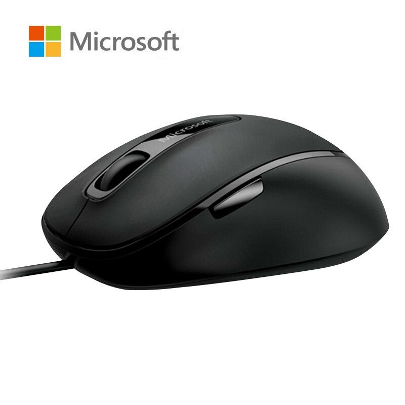 Microsoft 4500 souris filaire bleue confortable 1000DPI pour PC, ordinateur portable et MAC