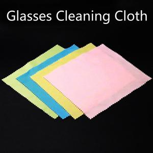 Phone Screen Cleaner Glasses Lens Cloth Wipes Sunglasses Microfiber Eyeglass Cleaning Cloth For Camera Computer Random Color