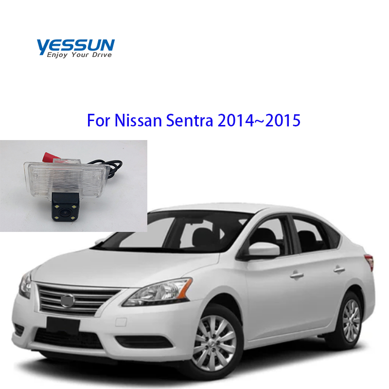 Yessun For Nissan Sentra 2013 For Nissan Sentra B17 2014~2015 Car CCD LED Backup Reverse Rear View Camera Car Parking Monitor