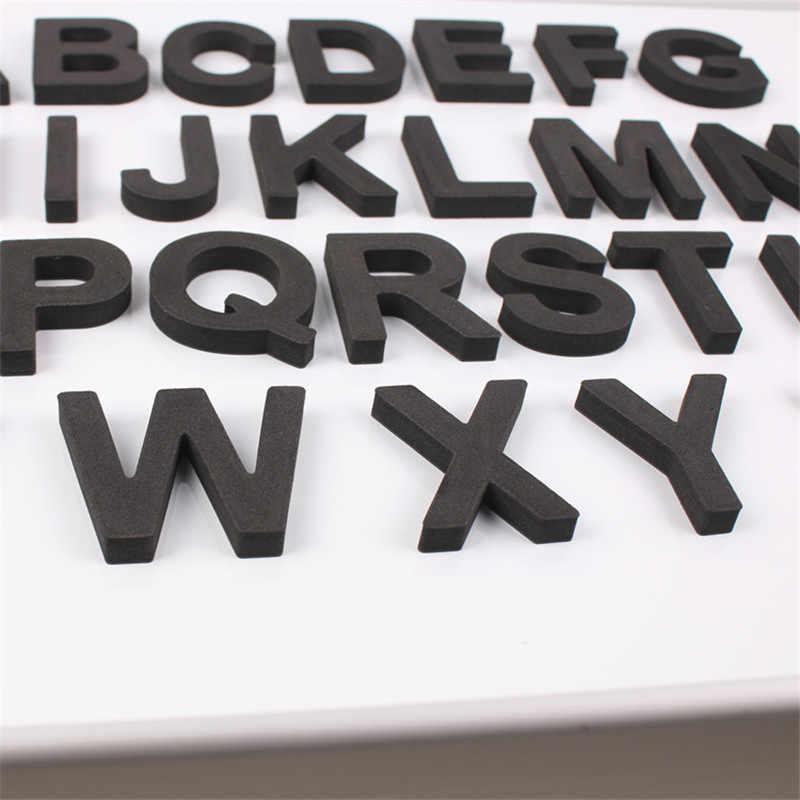 Yooap 5CM 26 teile/satz Magnetische Kühlschrank Buchstaben EVA Aktivierten Alphabet Kinder Kinder Magneten Aufkleber Hause Dekoration Zubehör
