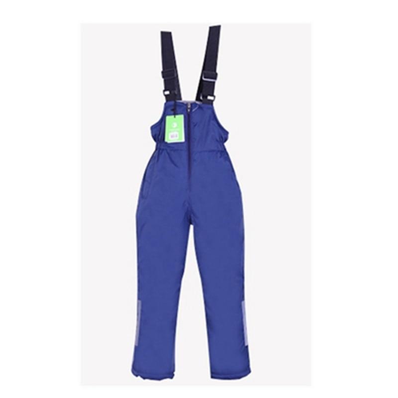 Winter Children's Ski Pants Men's And Women's Warm And Waterproof Ski Pants