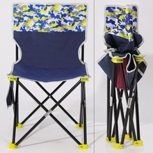 ABSF Outdoor Folding Lounge Chair Wild Camping Fishing/Stool Beach Chair Easy Carry for Camping Beach Chair
