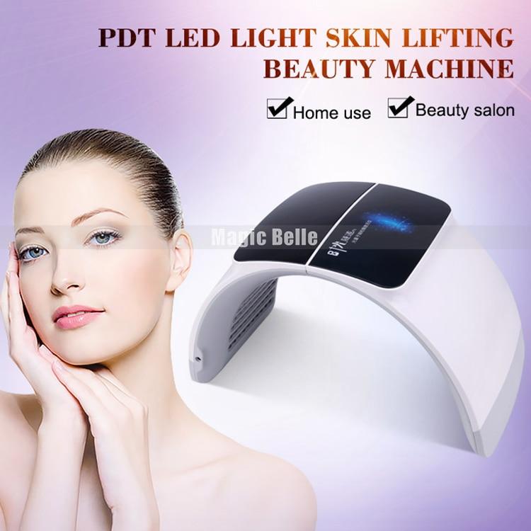 7 Colors Light LED Facial Device Face Skin Care LED Photon Therapy Skin Rejuvenation Beauty Machine