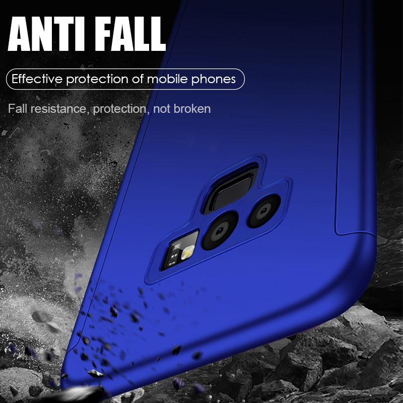 Funda completa para teléfono Samsung Galaxy, carcasa 360 a prueba de golpes para Samsung Galaxy S10, S9, S8 Plus, S20, A50, A51, Note 10 Plus, 8, 9 3