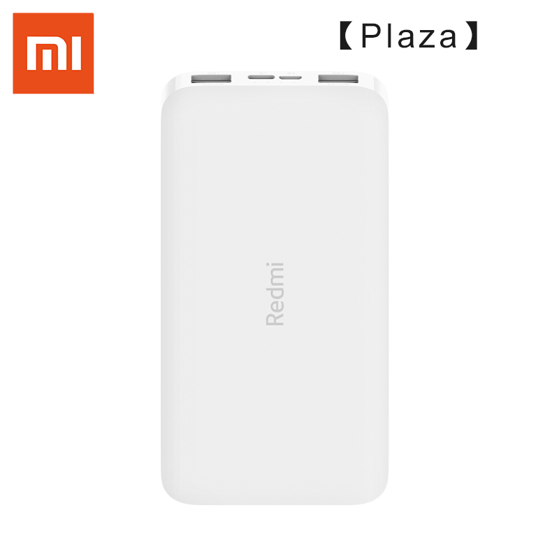 (Plaza) neueste Xiaomi Redmi Power Bank 10000mAh QC 3,0 USB Typ C18W Quick Charge Power Schnelle Lade Tragbare Ladegerät