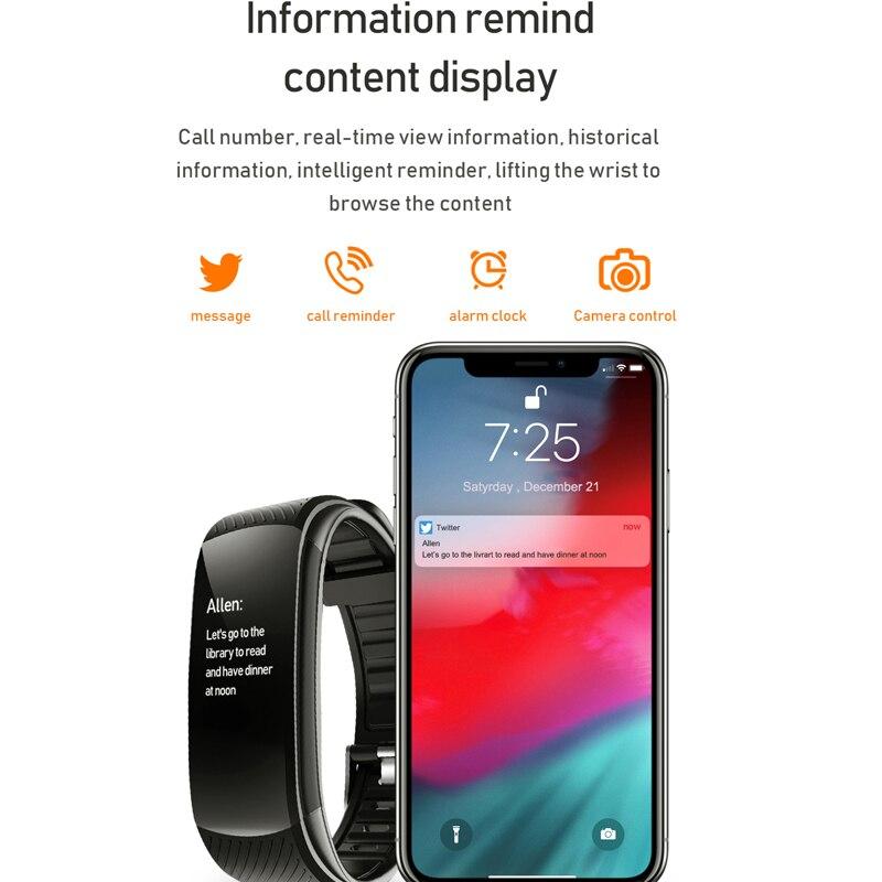 Смарт-часы-браслет монитор артериального давления фитнес-трекер Смарт-часы монитор сердечного ритма Смарт-часы для мужчин и женщин 3
