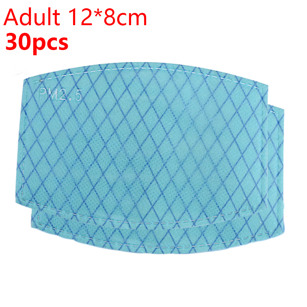 Four-layer Anti-fog Spacer PM2.5 Replacement Filters For Face Cover Adult/Child PM 2.5 Reasonable Size