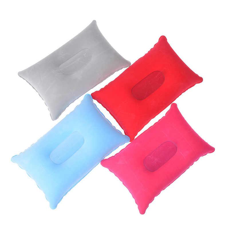 Lembut Bantal Tidur Mini Perjalanan Bantal Ultralight Bantal Tiup Udara Luar Ruangan Campingtravel