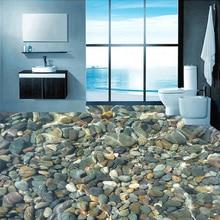 العرف الأرضيات خلفية ثلاثية الأبعاد نابض بالحياة الحصى غرفة المعيشة غرفة نوم الحمام الطابق جدارية بولي كلوريد الفينيل ذاتية اللصق خلفية الجدار تغطي