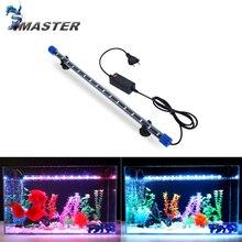 24-54 см аквариумная лампа погружной светильник для аквариума Водонепроницаемая подводная светодиодная подсветка аквариумное освещение