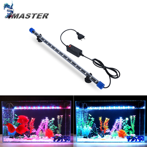 24-54CM Aquarium Light Fish Tank Submersible Light Lamp Waterproof Underwater LED Lights Aquarium Lighting