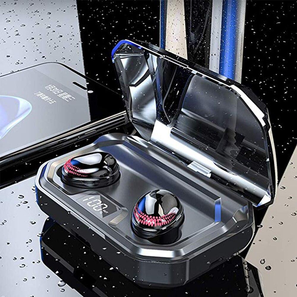 TWS X10 sans fil écouteurs Bluetooth 5.0 écouteur contrôle tactile étanche bruit suppression casque avec Microphone