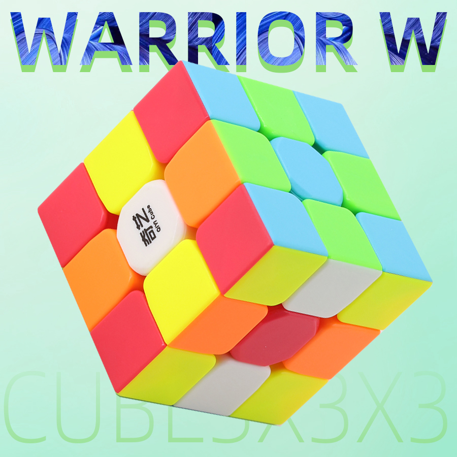 QiYi Warrior W 3x3x3 Magic Speed Cube3x3 Puzzle 56mm Game Cubes Puzzle Toys For Children Kids Cubo Magico