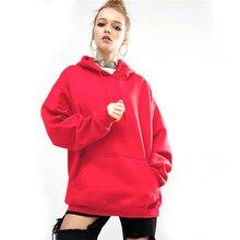 Black Pink Hoodie Casual Womens Maternity Sweatshirts Winter Long Sleeves Hooded New Loose Sport Bat Sleeve Hoodies