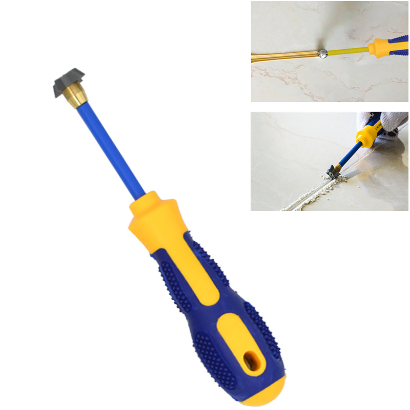 1 Set Tile Beauty Sewing Tool Floor Tile Gap Cleaner Pressure Gap Tungsten Steel For Wall Tile Gap Cleaning Construction Tools
