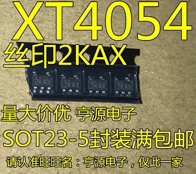 20 шт. новый оригинальный XT4054K421MR-g XT4054 печать 2 kax SOT23-5 IC для литиевых батарей