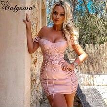 Женские вечерние платья colysmo розовое летнее платье с коротким
