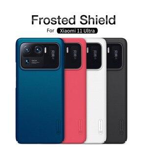 Image 2 - For Xiaomi Mi 11 Mi11 Lite Case NILLKIN Frosted Shield Protection Case For Xiaomi 11 Ultra Mi 11 Pro Anti fingerprint Back Cover