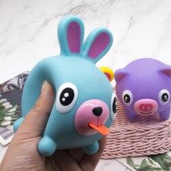 Bonito língua vocal boneca pitada música crianças descompressão respiradouro brinquedo vocal animal brinquedo de descompressão brinquedos de estresse