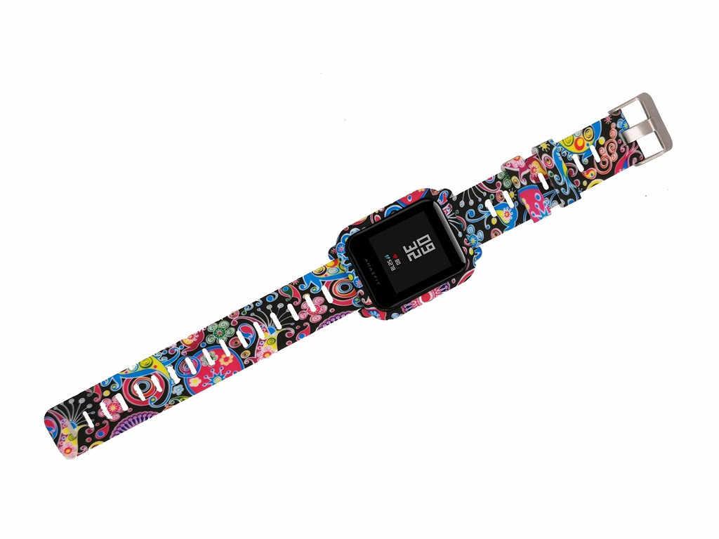 2019 ساعات سيليكون رائجة البيع الفرقة شريط للرسغ ل شاومي Huami Amazfit بيب الشباب/لايت ساعة عالية الجودة شراء