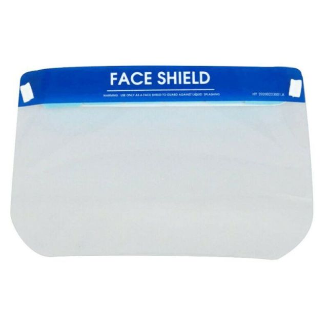 High Quality New Anti-Saliva Splash Anti-Spitting Anti-Fog Anti-Oil Protective Face Shields Mask with Elastic Band 1