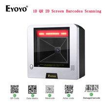 Barcode Scanner POS Datamatrix 1D Supermarket QR Desktop Eyoyo 2d CMOS for Store 1280--1024